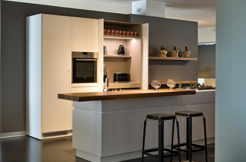 contini arredamentole cucine in esposizione nello showroom