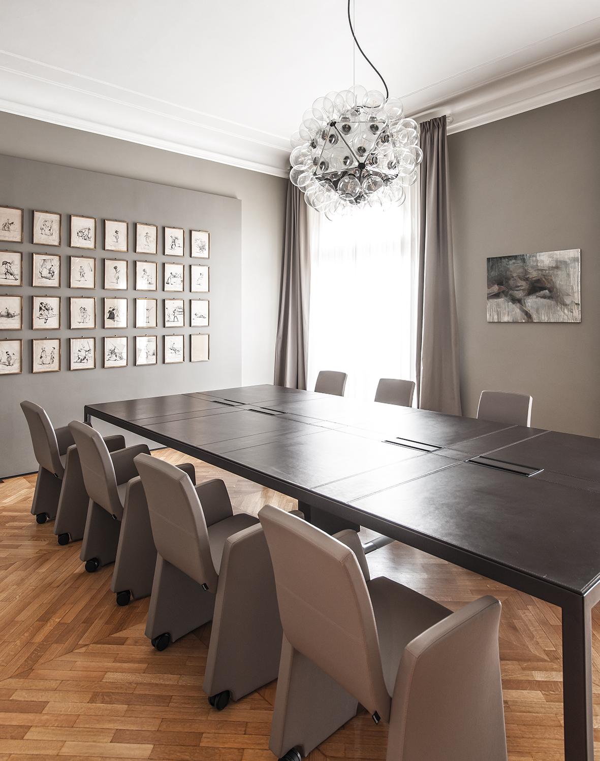 Un progetto di interior design che ha ridisegnato gli for Arredo studio design